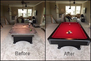 expert pool table recovering in Mcminnville content img3